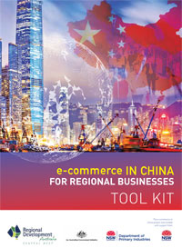 e-commerce in China Toolkit for business, RDA Central West